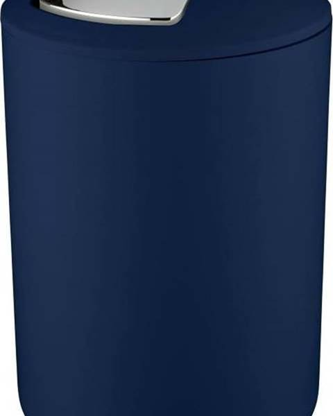 WENKO Tmavě modrý odpadkový koš Wenko Brasil Dark Blue L