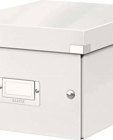 Bílá úložná krabice Leitz Universal, délka 28 cm