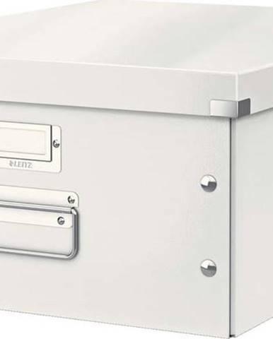 Bílá úložná krabice Leitz Universal, délka 48 cm