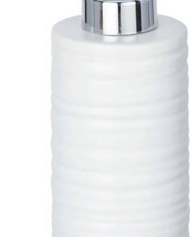 Bílý keramický dávkovač mýdla Wenko Mila, 260 ml