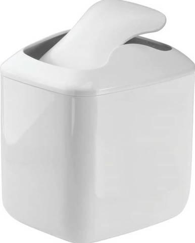 Bílý odpadkový koš iDesign Una