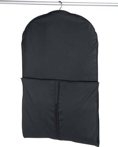 Černý obal na oblek Wenko, 150x60cm