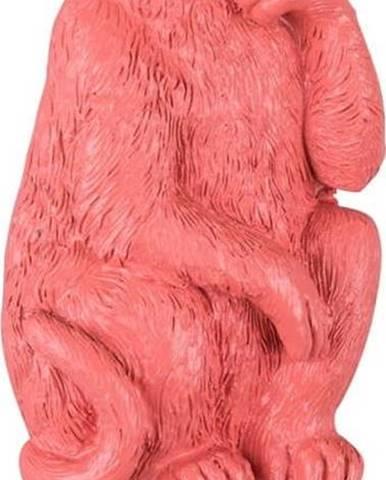 Korálově růžový háček Leitmotiv Monkey