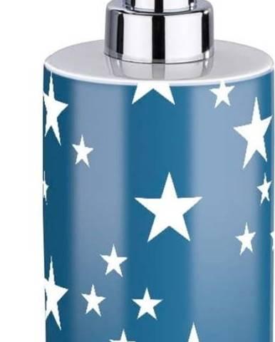 Modrobílý dávkovač na mýdlo Wenko Stella Blue