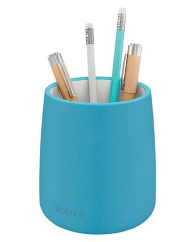 Modrý keramický kelímek na tužky Leitz Cosy