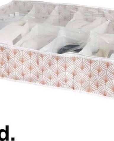 Organizér na boty pod postel Compactor Blush Range, 76 x 60 cm
