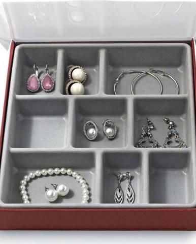 Organizér na šperky s 9 přihrádkami Domopak Bijou