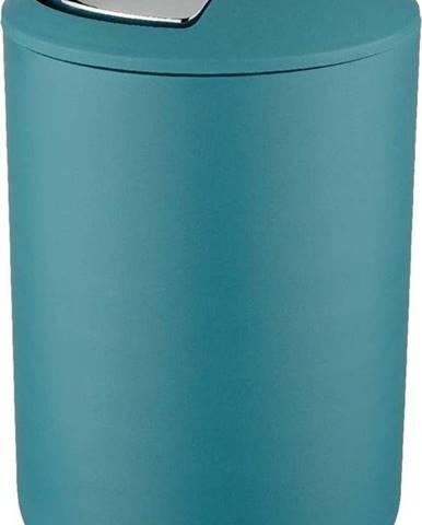 Petrolejově modrý odpadkový koš Wenko Swing Petrol L