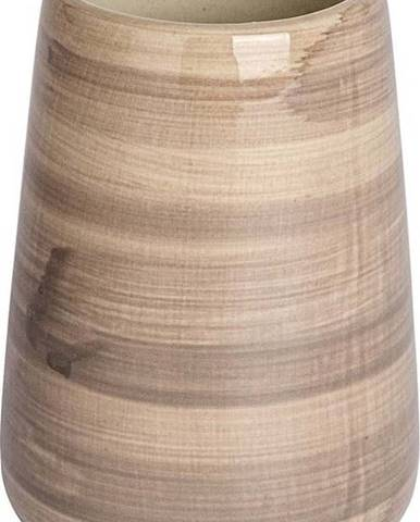 Pískově hnědý kelímek na kartáčky Wenko Pottery