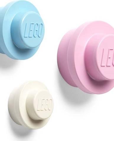 Sada 3 věšáků na zeď LEGO® Pastel