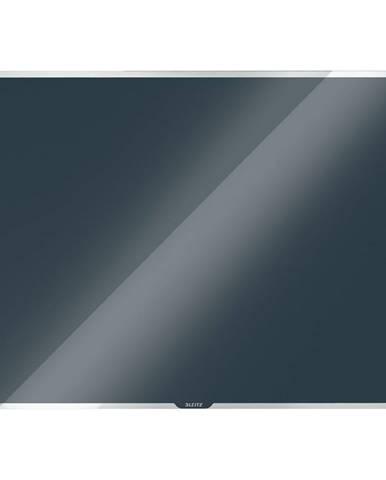 Šedá skleněná magnetická tabule Leitz Cosy, 60 x 40 cm