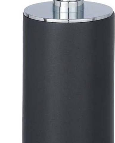 Tmavě šedý dávkovač mýdla Wenko, 140 ml
