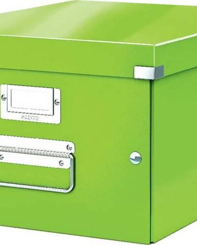 Zelená úložná krabice Leitz Universal, délka 37 cm
