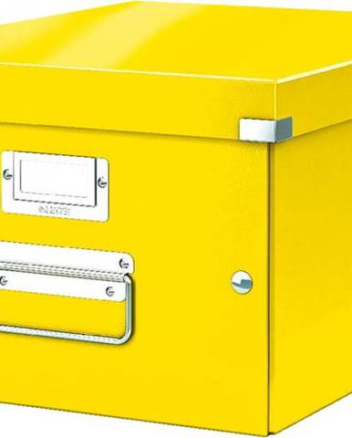 Žlutá úložná krabice Leitz Universal, délka 37 cm