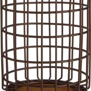 Železný stojan v bronzové barvě na kuchyňské nástroje Premier Housewares, Ø 12 x 17 cm