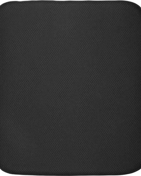 iDesign Černá podložka na umyté nádobí iDesign iDry,45,7x40,6cm