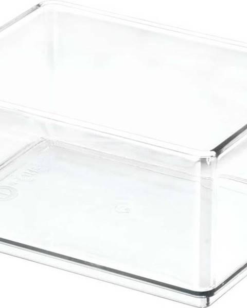 iDesign/The Home Edit Transparentní úložný box iDesignTheHomeEdit, 11,9x16cm