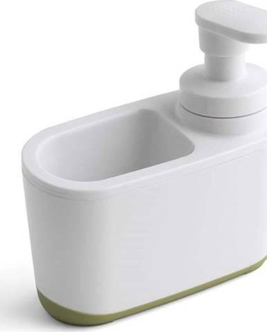 Bílo-zelený dávkovač na mýdlo Addis