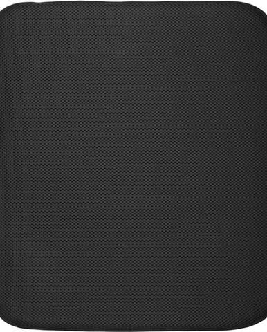 Černá podložka na umyté nádobí iDesign iDry,45,7x40,6cm