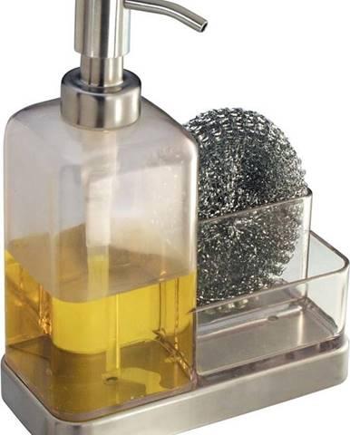 Dávkovač mýdla s prostorem na drátěnku iDesign Forma