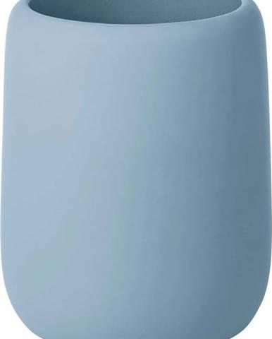 Modrý kelímek na zubní kartáčky Blomus Sono, 300 ml