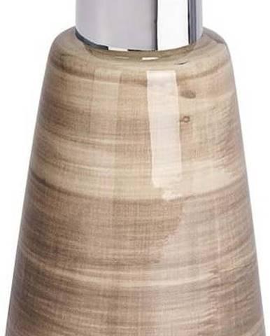 Pískově hnědý dávkovač mýdla Wenko Pottery