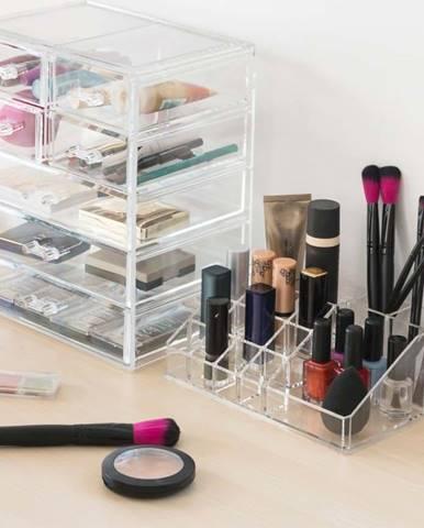 Průhledný kosmetický organizér InnovaGoods