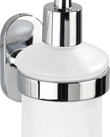 Samodržící nástěnný dávkovač mýdla Wenko Power-Loc Puerto Rico, 200 ml