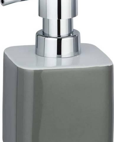 Šedý keramický dávkovač na mýdlo Wenko Elmo