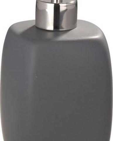 Šedý keramický dávkovač na mýdlo Wenko Faro