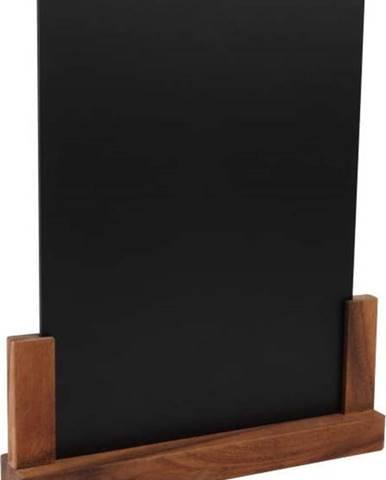 Tabulka se stojánkem z akáciového dřeva T&G Woodware Rustic, výška 32 cm