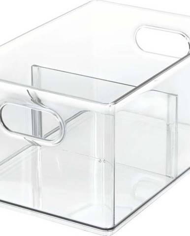 Transparentní úložný box iDesignTheHomeEdit, 30,5x20,3cm