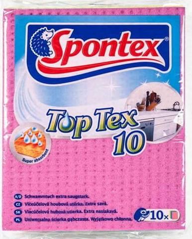 Víceúčelová houbová utěrka Spontex Top Tex, 8 x 10 kusů