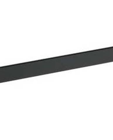Černý nástěnný stojan na ručníky Wenko Classic Plus