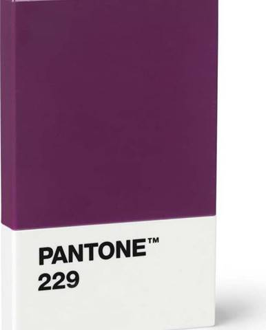 Fialové pouzdro na vizitky Pantone
