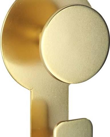Matný nástěnný háček ve zlaté barvě Wenko Blandas