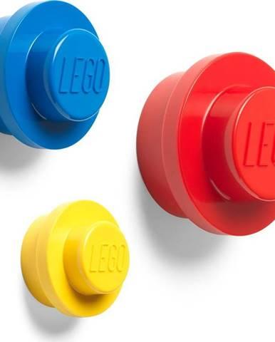 Sada 3 věšáků na zeď LEGO® Colour