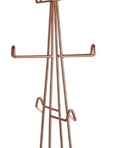 Stojan z kovu na 6 hrnků Premier Housewares Vertex Copper