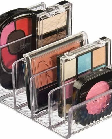 Transparentní organizér na kosmetické paletky iDesign Rain