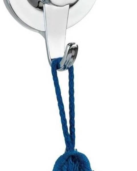 WENKO Samodržící nástěnný háček ve stříbrné barvě Wenko Valenza