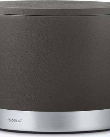 Antracitově šedý úložný box Blomus, objem400ml
