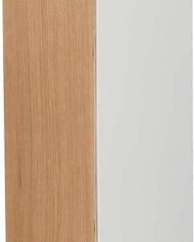 Bílý zásobník na toaletní papír YAMAZAKI Rin Stocker, výška71cm