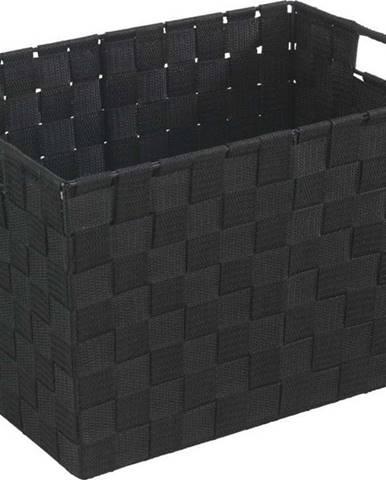 Černý košík Wenko Adria, 25,5x35cm