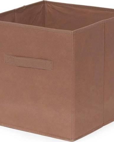 Hnědý skládatelný úložný box Compactor Foldable Cardboard Box