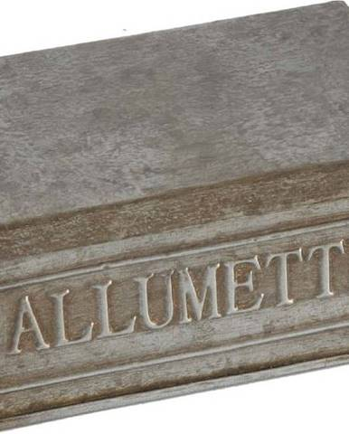 Kovový úložný box Antic Line Allumettes