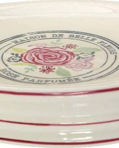 Krémová miska na mýdlo z kameniny Premier Housewares Belle