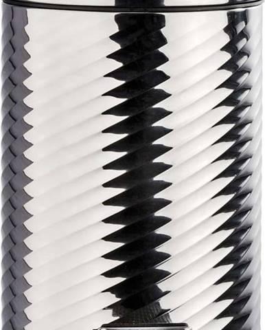 Pedálový odpadkový koš ve stříbrné barvě Wenko Spiro Shiny, 3 l