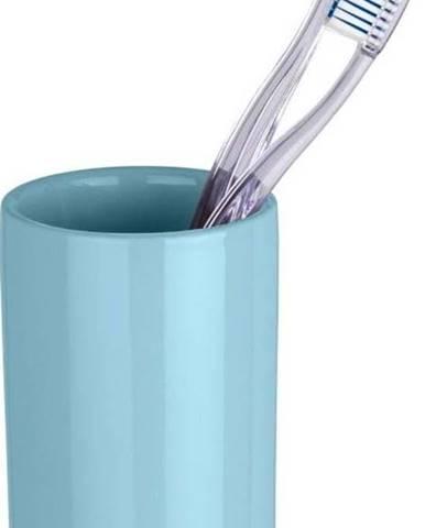 Světle modrý kelímek na zubní kartáčky Wenko Polaris Blue