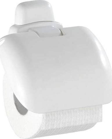 Bílý držák na toaletní papír Wenko Pure