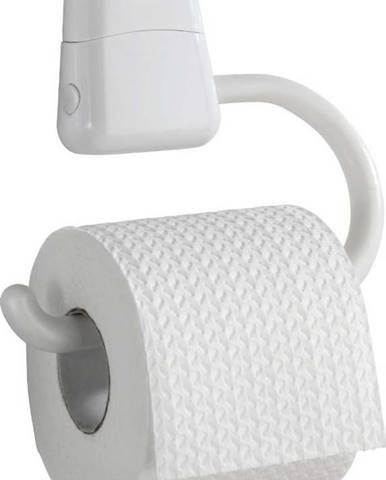 Bílý držák na toaletní papír Wenko Pured